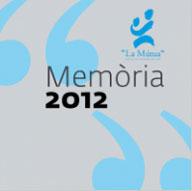 MÚTUA DE GRANOLLERS Memòria2012