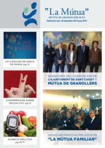 MÚTUA DE GRANOLLERS REVISTA JUNY 2015